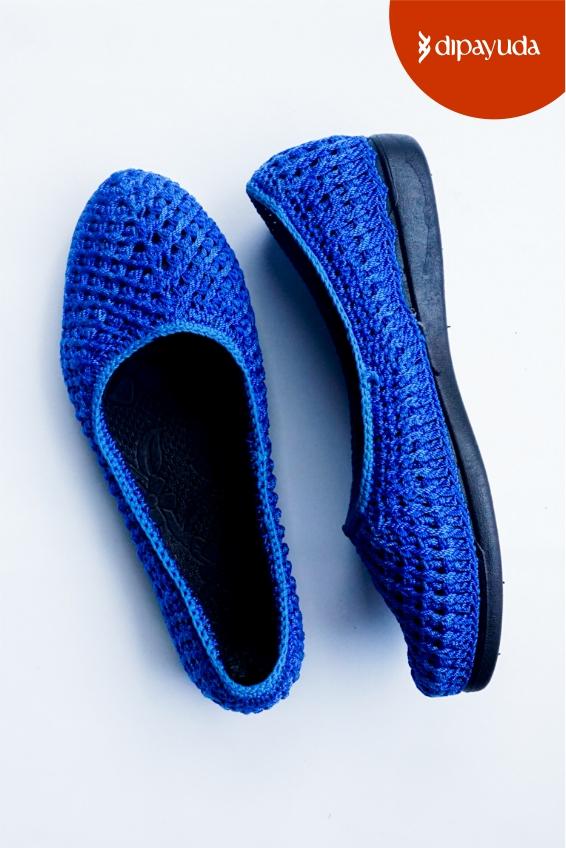 Flat Shoes Rajut